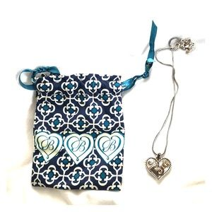 Brighton Two-tone heart necklace